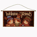 Welcome Friends Banner, HHL97420WF
