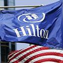 Hilton Hotels custom flag