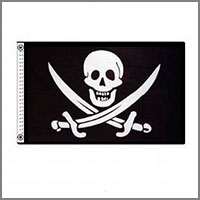 Historical Pirate Flags