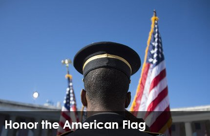 Honor the American Flag