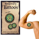 Army Temporary Tattoos, III1751
