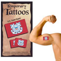 Coast Guard Temporary Tattoos, III1752