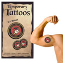 Marine Corps Temporary Tattoos, III1753