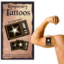 Army Logo Temporary Tattoos, III1758