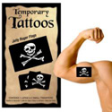 Jolly Roger Temporary Tattoos, III1770