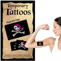 Pirate Girl Temporary Tattoos, III1772