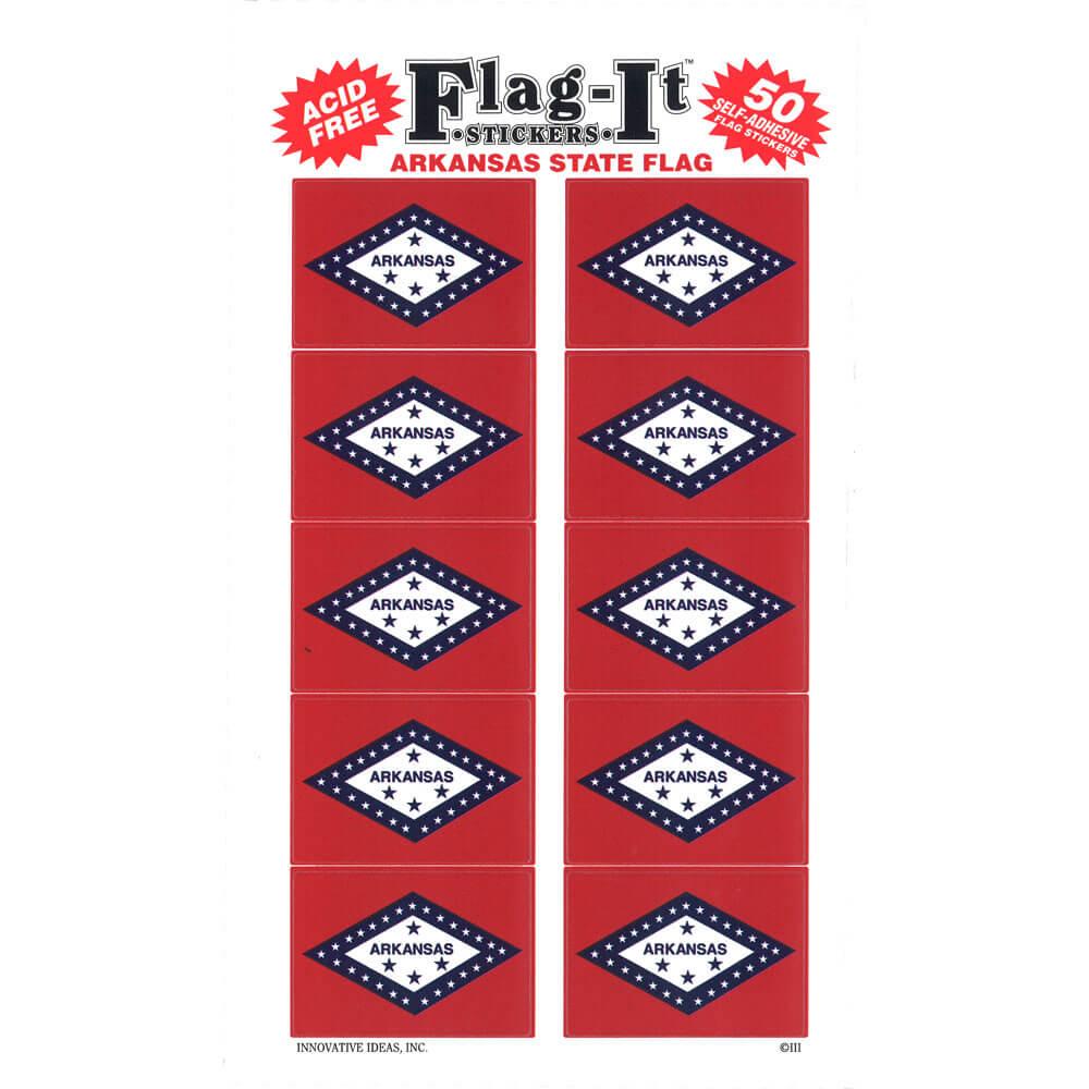 Arkansas State Shaped Gadsden Flag Sticker Decal Vinyl AR