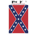 Confederate Flag Decal, 3-1/2 in x 5 in, III420