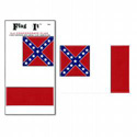 3rd Confederate Flag Decal, III423