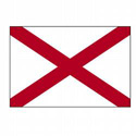 Alabama Flag Decal