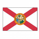 Florida Flag Decal, III434