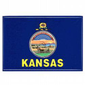 Kansas Flag Decal, III441