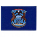 Michigan Flag Decal, III447