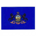 Pennsylvania Flag Decal, III463
