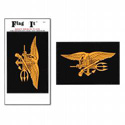 Navy Seals Flag Decal, III756