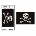 Jolly Roger Flag Decal
