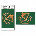 Erin Go Bragh Flag Decal, III788