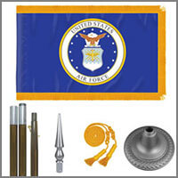 Air Force Indoor Flags & Kits