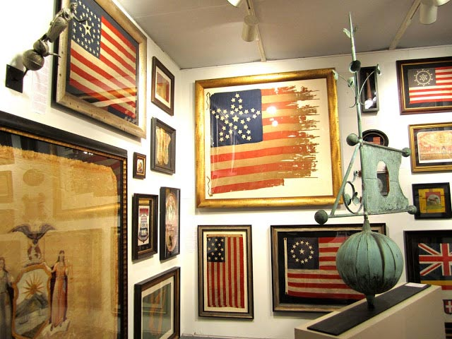 American Home Decor Stores: Creative Ways To Display The American Flag Indoors