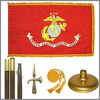 Marine Corps Indoor Flags & Kits