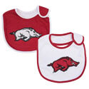 Arkansas Razorbacks Infant Bib Set, J12460
