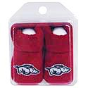 Arkansas Razorbacks Baby Booties, J12632