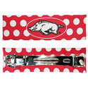 Arkansas Razorbacks Hair Barrette, J25600