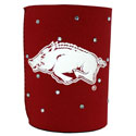 Arkansas Razorbacks Rhinestone Can Cooler, J32556