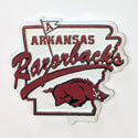 Arkansas Razorbacks Mascot Map Magnet, J44161