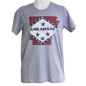 Arkansas Hometown Typography T-Shirt, FBPP0000013668
