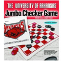 Arkansas Razorbacks Jumbo Checker Rug Game, JAG2813UA