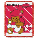 Arkansas Razorbacks Baby Throw, JAG4835UA