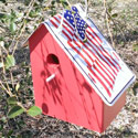 USA Flag Birdhouse, JAG610US