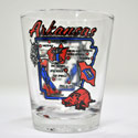Arkansas Map Shot Glass, JAGA6127