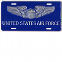 US Air Force License Plate, JAGLP107