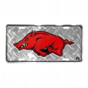 Arkansas Razorback License Plate, JAGLP51