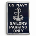 Sailors Parking Only Sign, JAGPS83