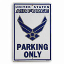 Air Force Parking Only Sign