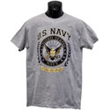 Navy Laurel Leaf T-Shirt, JBCTALLNS