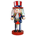 Chubby Uncle Sam Nutcracker, JRI95230