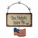 One Nation Under Me Sign, JTCONUM