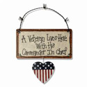 A Veteran Lives Here Sign, JTCVLH