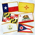 50 States Indoor Flag Set