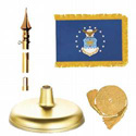 Brass Air Force Flag Kit