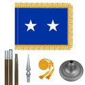 Oak And Chrome Air Force Major General Flag Kit