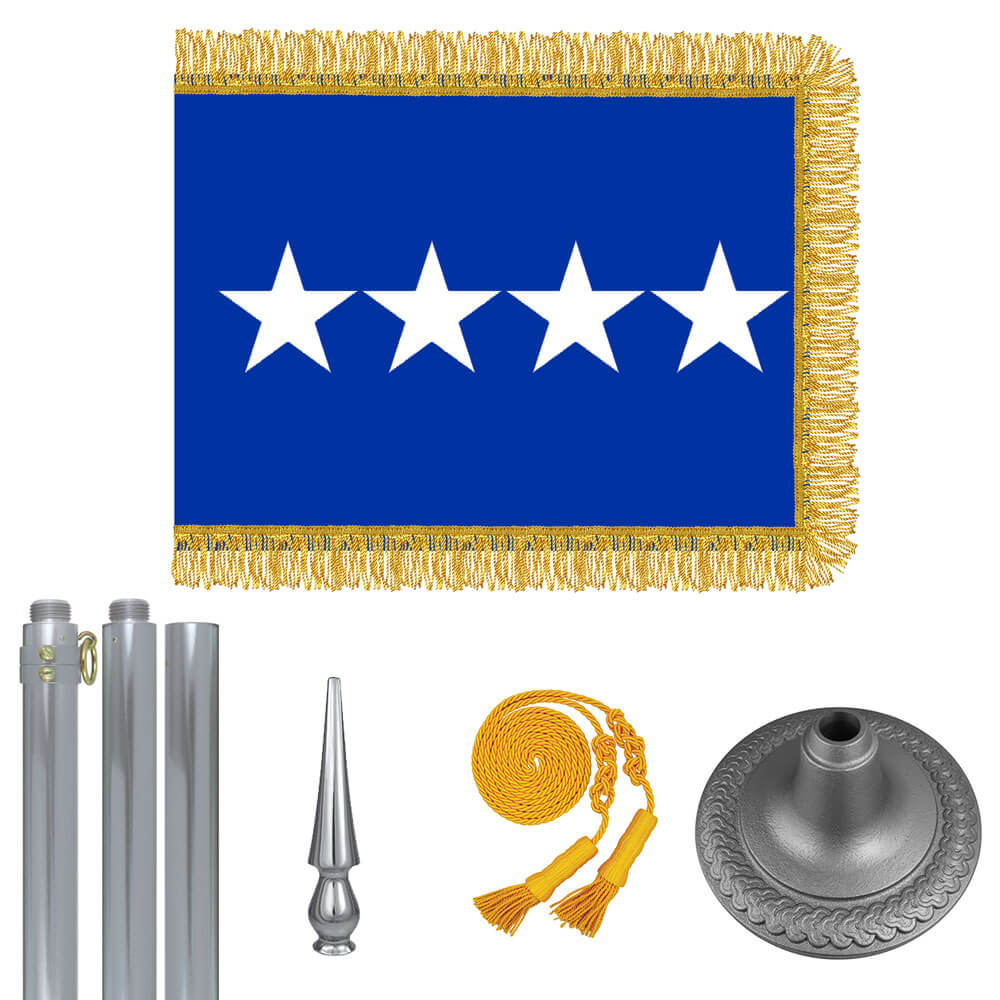 Chrome Air Force General Flag Kit, FBPP0000009418