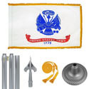 Chrome Army Flag Kit