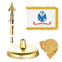 Brass Army Flag Kit