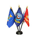 Armed Forces Miniature Flag Kit, KAARME46