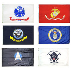 Armed Forces Flag Kit, KAARMEF35